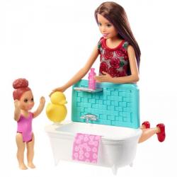 Obrázek Barbie chůva herní set - FXH05