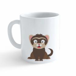 Obrázek Hrnek Veselá zvířátka - Fretka