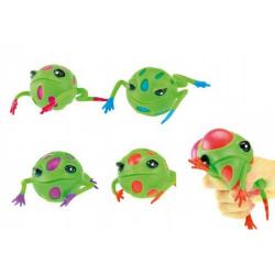 Obrázek Sliz žaba mačkacie 9cm asst 4 farby v sáčku 12ks v boxe