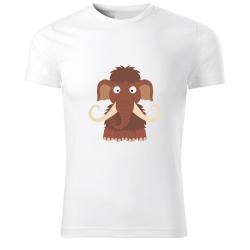 Obrázek Tričko Veselá zvieratká - Mamut, veľ. 122 cm / 6 rokov