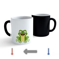 Obrázek Měnící hrnek Veselá zvířátka - Žabička