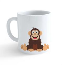 Obrázek Hrnček Veselá zvieratká - Šimpanz