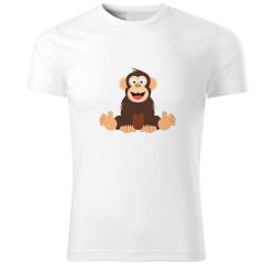 Obrázek Tričko Veselá zvieratká - Šimpanz, veľ. S