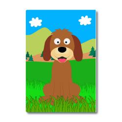 Obrázek Magnetka Veselá zvieratká - Psík