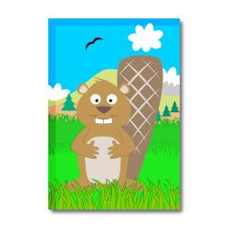 Obrázek Magnetka Veselá zvířátka - Bobr