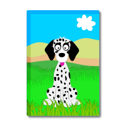 Obrázek Magnetka Veselá zvieratká - Dalmatín