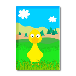 Obrázek Magnetka Veselá zvířátka - Kačenka