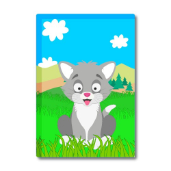 Obrázek Magnetka Veselá zvieratká - Kocourek