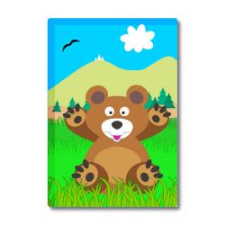 Obrázek Magnetka Veselá zvířátka - Medvídek