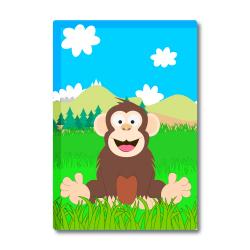 Obrázek Magnetka Veselá zvířátka - Šimpanz