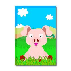 Obrázek Magnetka Veselá zvieratká - Prasiatko