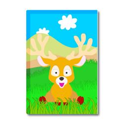 Obrázek Magnetka Veselá zvieratká - Sobík