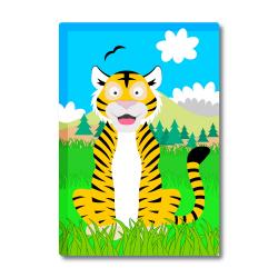 Obrázek Magnetka Veselá zvířátka - Tygřík