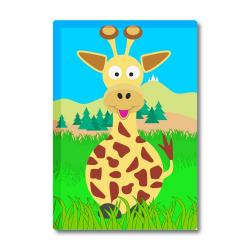 Obrázek Magnetka Veselá zvířátka - Žirafa
