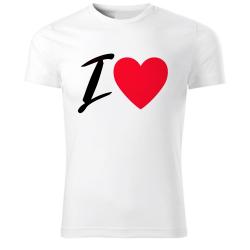 Obrázek Tričko Fantasy - I LOVE, veľ. XL