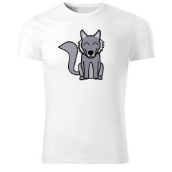 Obrázek Tričko Tučňák a jeho kamarádi - #8 vlk obecný, vel. S