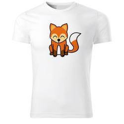 Obrázek Tričko Tučňák a jeho kamarádi - #5 liška obecná, vel. XS