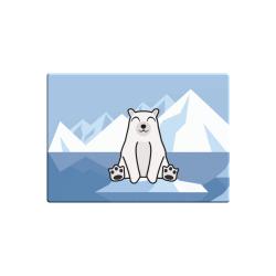 Obrázek Magnetka Tučňák a jeho kamarádi - #13 medvěd lední