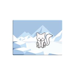 Obrázek Magnetka Tučňák a jeho kamarádi - #7 liška polární