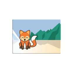 Obrázek Magnetka Tučňák a jeho kamarádi - #5 liška obecná