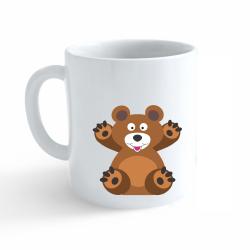 Obrázek Hrnek Veselá zvířátka - Medvídek