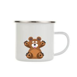 Obrázek Plecháček Veselá zvířátka - Medvídek