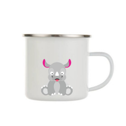 Obrázek Plecháček Veselá zvířátka - Nosorožec