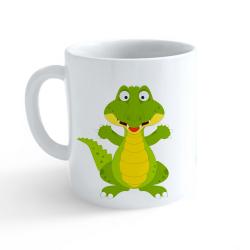 Obrázek Hrnček Veselá zvieratká - Krokodíl
