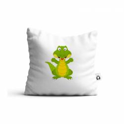 Obrázek Polštář Veselá zvířátka - Krokodýl