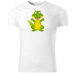 Obrázek Tričko Veselá zvieratká - Krokodíl, veľ. S