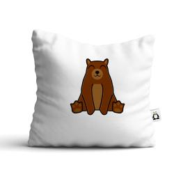 Obrázek Polštář Tučňák a jeho kamarádi - #9 medvěd hnědý