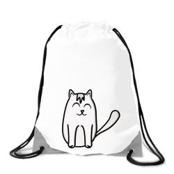 Obrázek Batoh na chrbát Tučniak a jeho kamaráti - # 11 mačka domáca