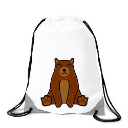 Obrázek Batoh na záda Tučňák a jeho kamarádi - #9 medvěd hnědý
