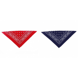 Obrázek šátek kovbojský, 53x53 cm - 2 barvy
