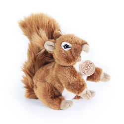 Obrázek plyšová veverka, 17 cm
