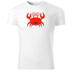 Obrázek Tričko Veselá zvieratká - krabík, veľ. S