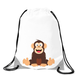 Obrázek Batoh na chrbát Veselá zvieratká - Šimpanz