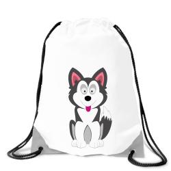 Obrázek Batoh na chrbát Veselá zvieratká - Husky