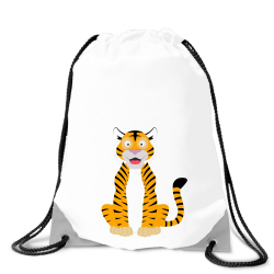 Obrázek Batoh na záda Veselá zvířátka - Tygřík