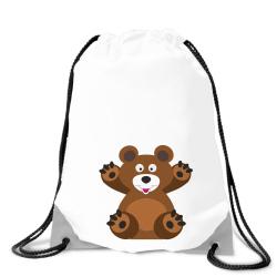 Obrázek Batoh na záda Veselá zvířátka - Medvídek