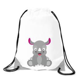 Obrázek Batoh na záda Veselá zvířátka - Nosorožec