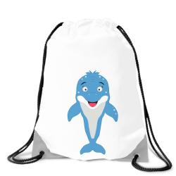 Obrázek Batoh na záda Veselá zvířátka - Delfínek