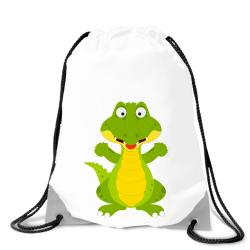 Obrázek Batoh na záda Veselá zvířátka - Krokodýl
