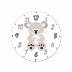Obrázek Nástenné hodiny Veselá zvieratká - Koala - 30 cm