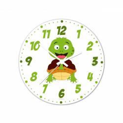 Obrázek Nástenné hodiny Veselá zvieratká - Želvička - 30 cm