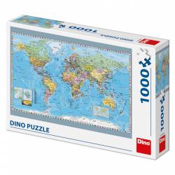 Obrázek Puzzle Politická mapa světa 1000D