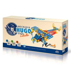 Obrázek Mechanik Hugo staví Letadlo Seva stavebnice s nářadím 144ks plast