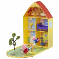 Obrázek Prasátko Pepa - domeček se zahrádkou + figurka a příslušenství