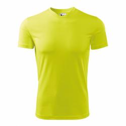 Obrázek Tričko se jménem - neonově žluté, vel. S