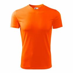 Obrázek Tričko se jménem - neonově oranžové, vel. S